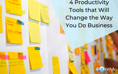 4 Productivity Tools That Will Change The Way You Do Business