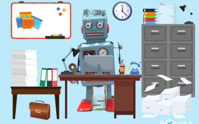 How did Robbie the Robot reap the benefits of automation?